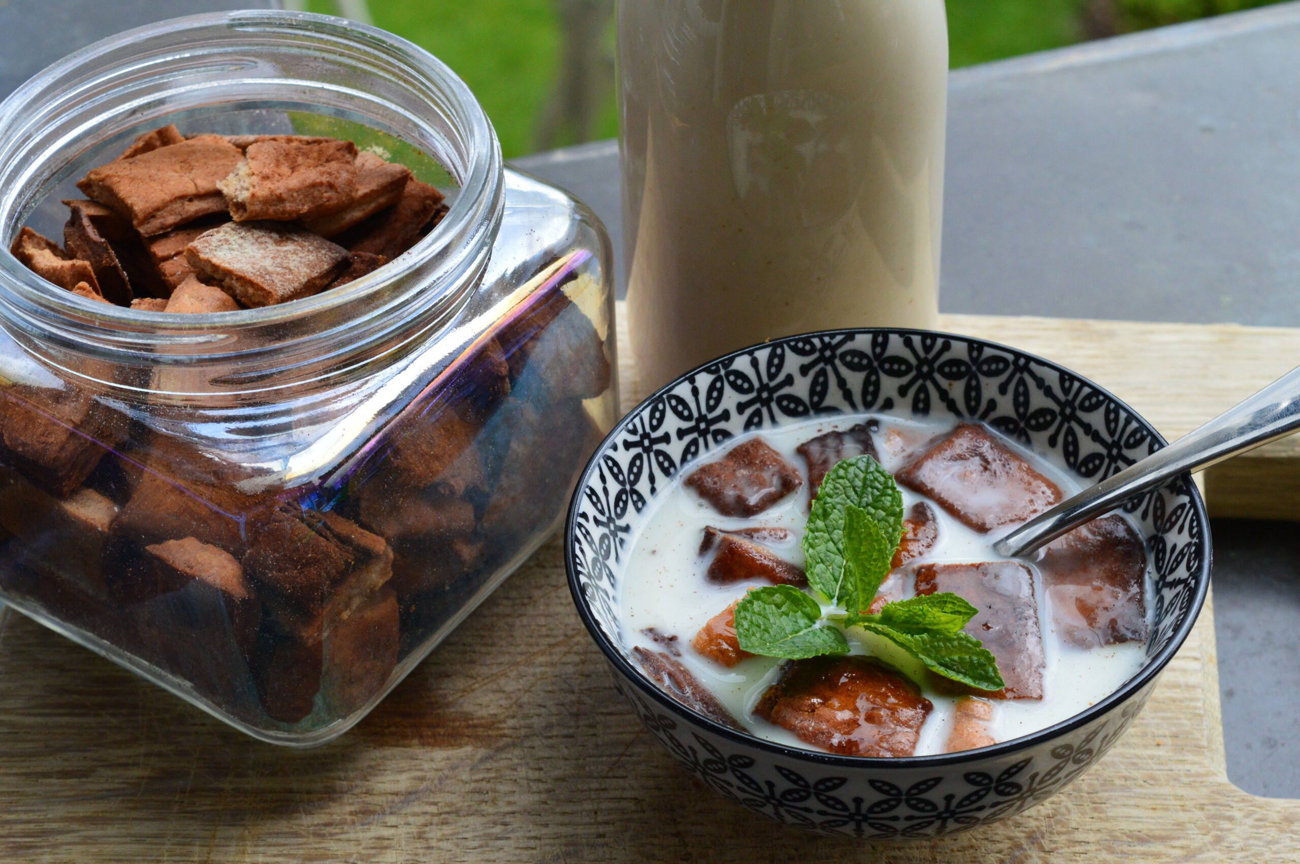 Zucker hemmt die Wehen - eine zuckerfreie Frühstücksidee